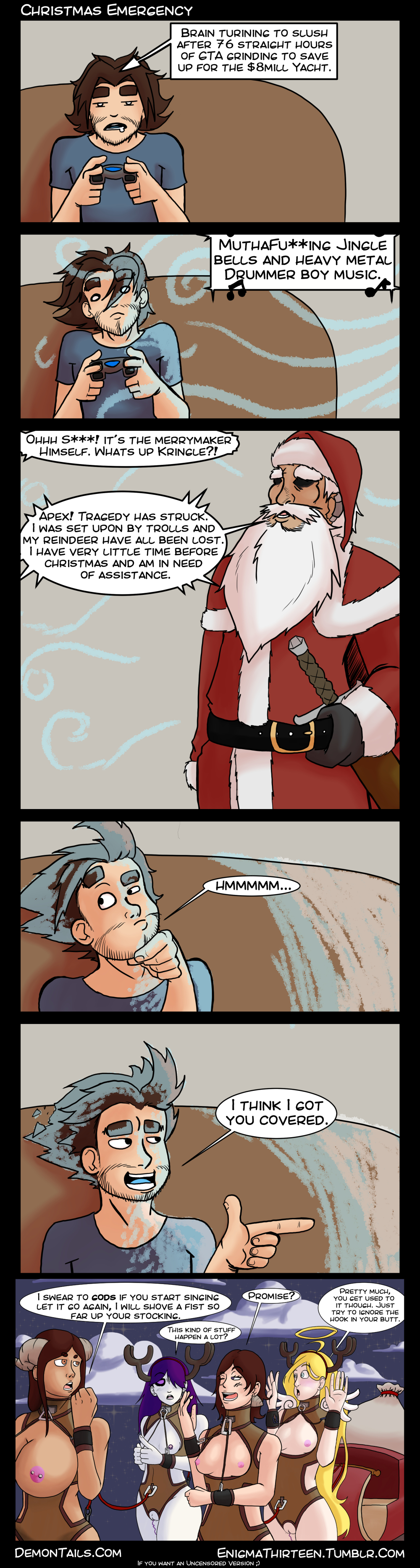 Christmas Emergency (NSFW)